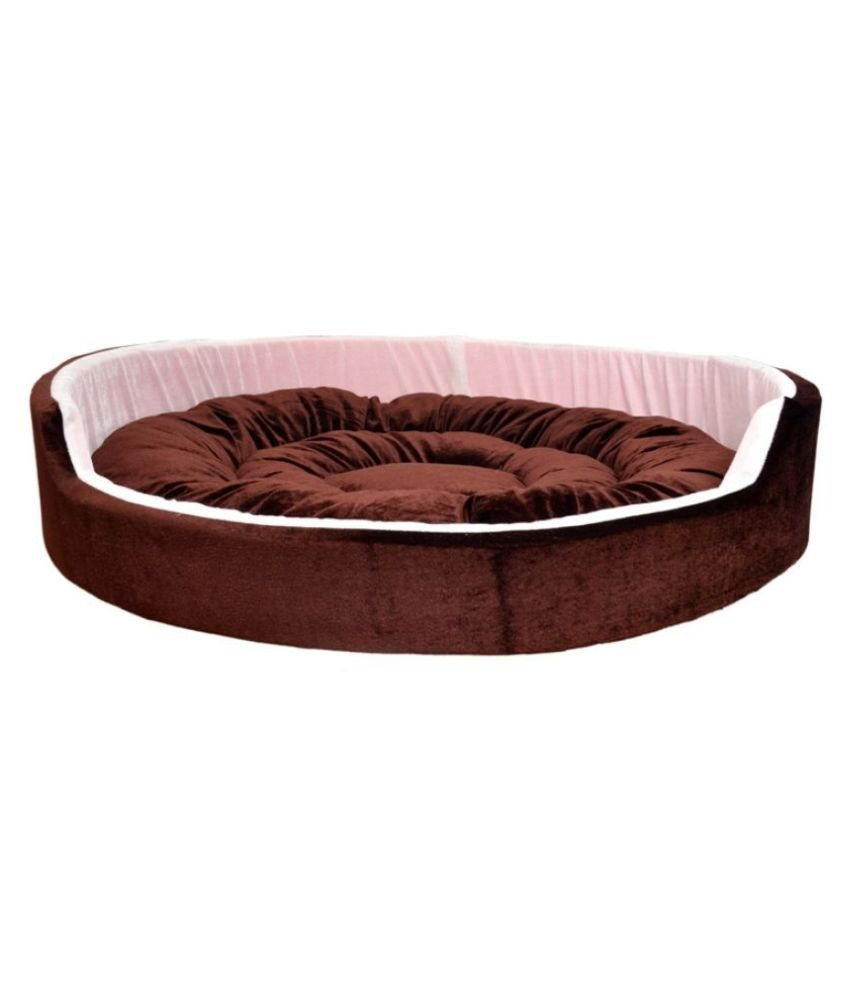 R.K Products Ultra Soft Ethinic Desighner Bed for Dog and Cat (Export Quality)