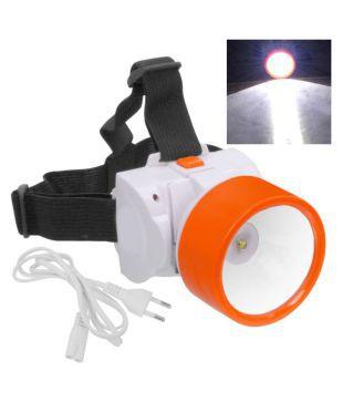 Rechargeable Ultra Bright 1 Big Led Headlight Headlamp Head Lamp Torch Flashlight
