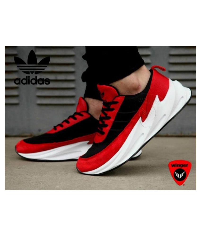 ADIDAS SHARK BOOST limited edition Red