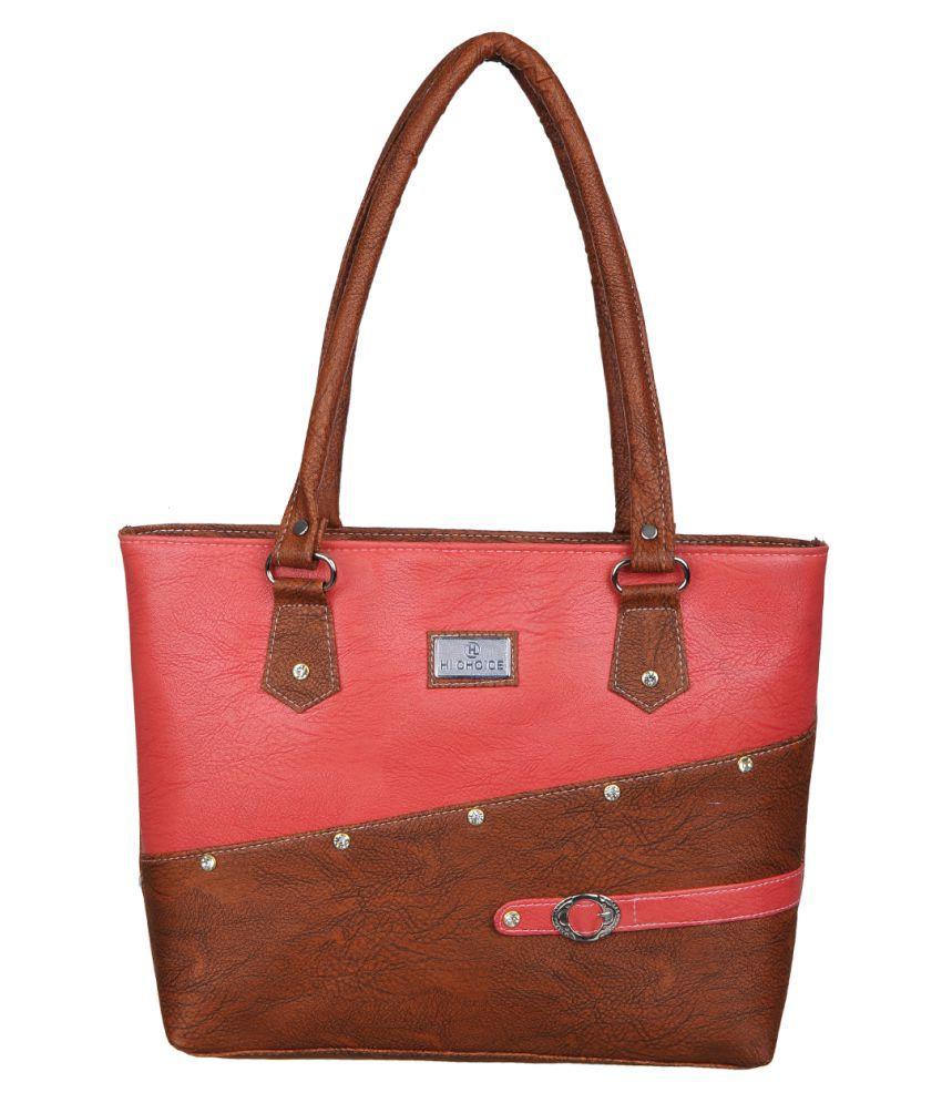 Hi Choice Multi Artificial Leather Shoulder Bag