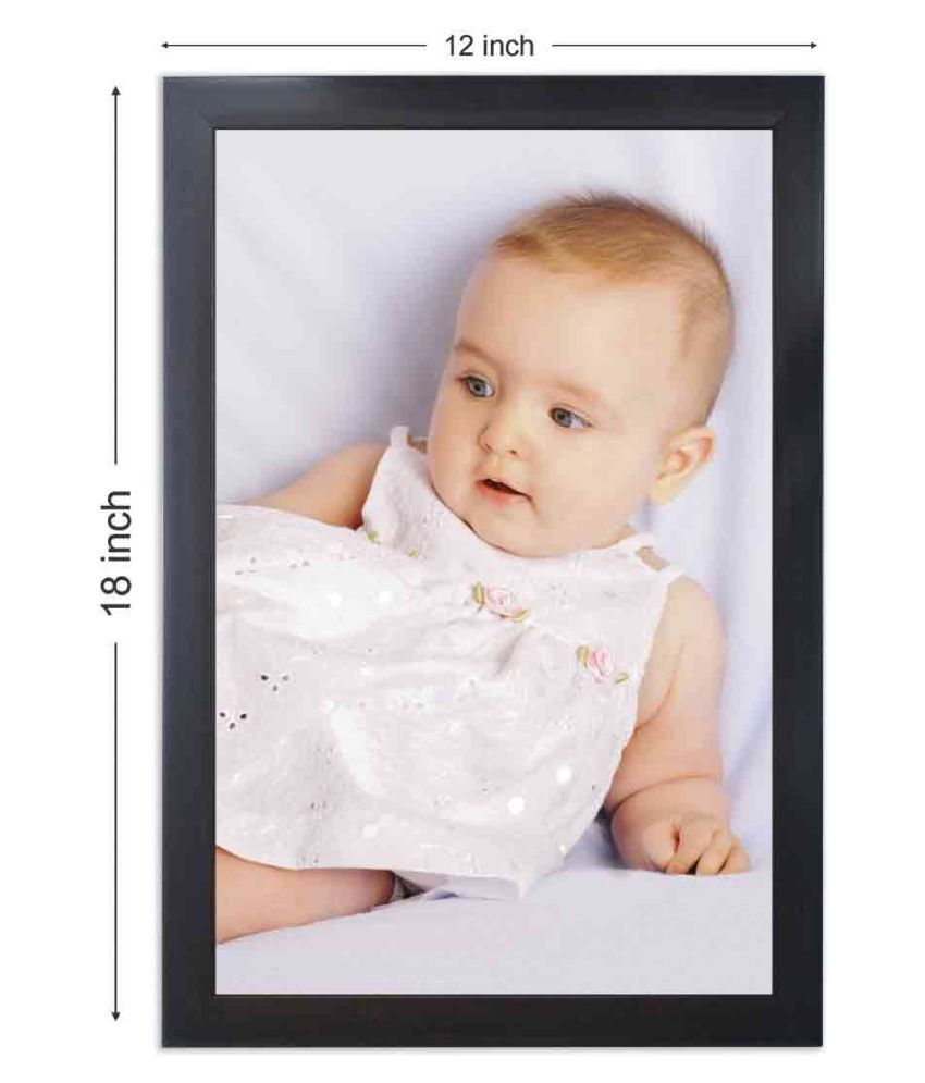 Photo Frame Wood Brown Single Photo Frame - Pack of 1
