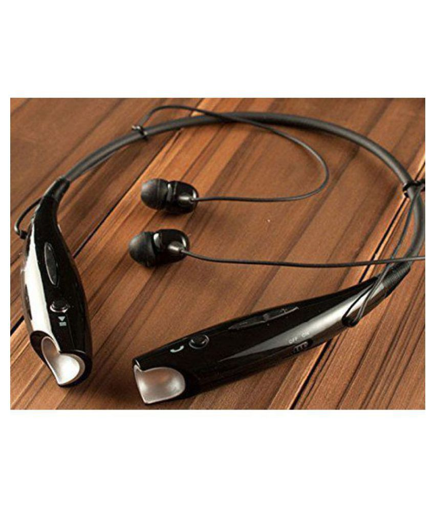 UnV HBS730 Wireless Bluetooth Neckband Wireless With Mic Headphones/Earphones