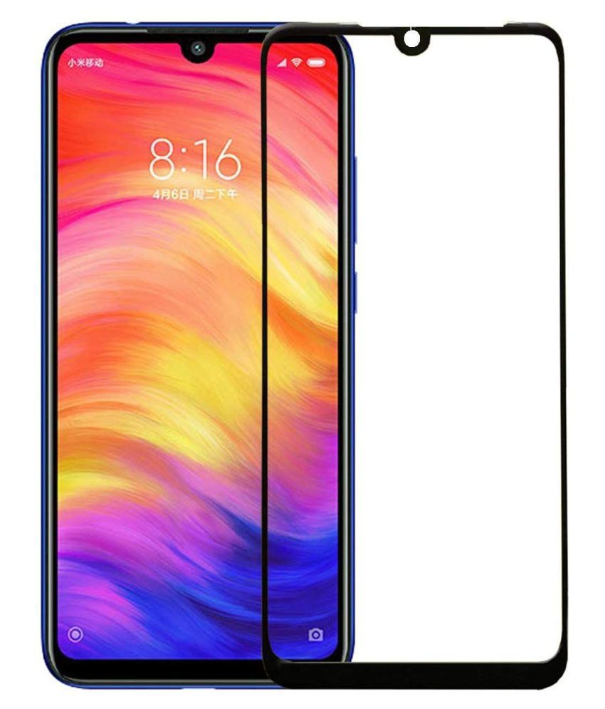 Xiaomi Redmi 7 Tempered Glass Screen Guard By Spectacular Ace 11D