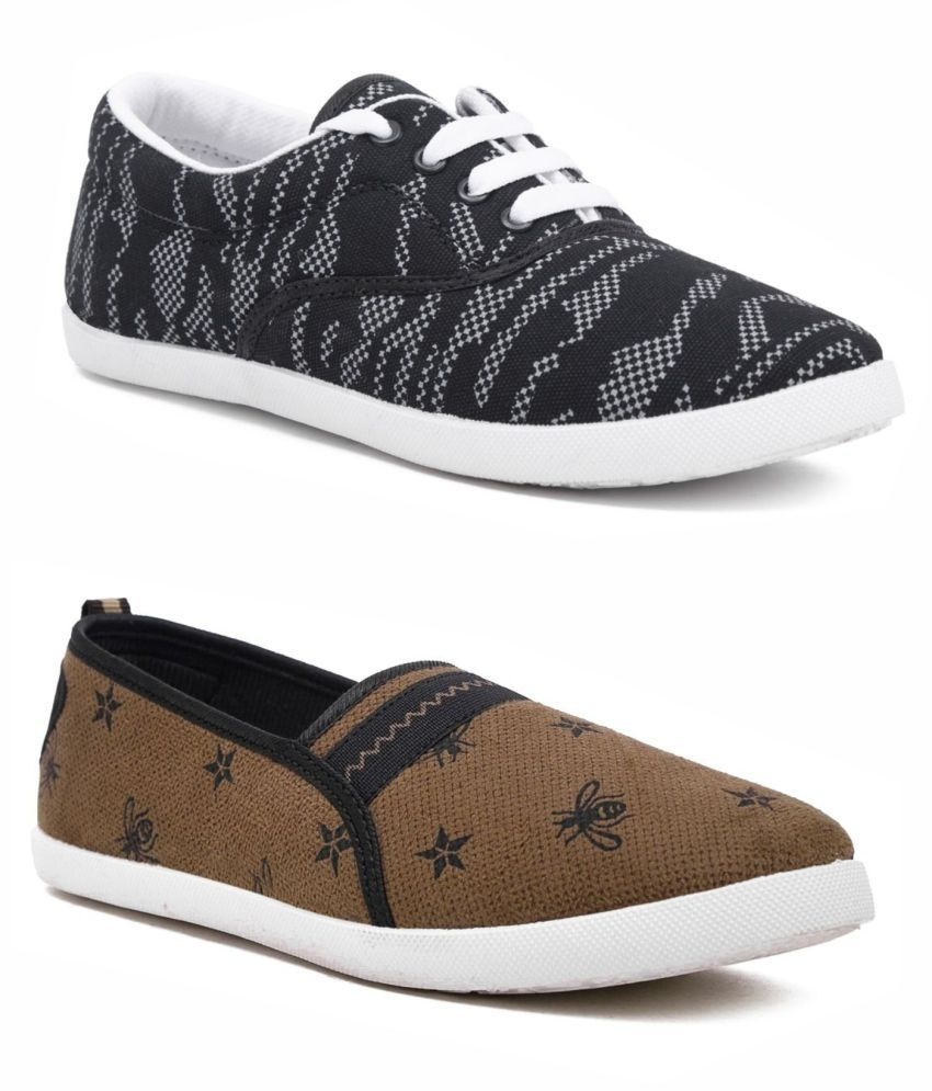 ASIAN Beige Casual Shoes