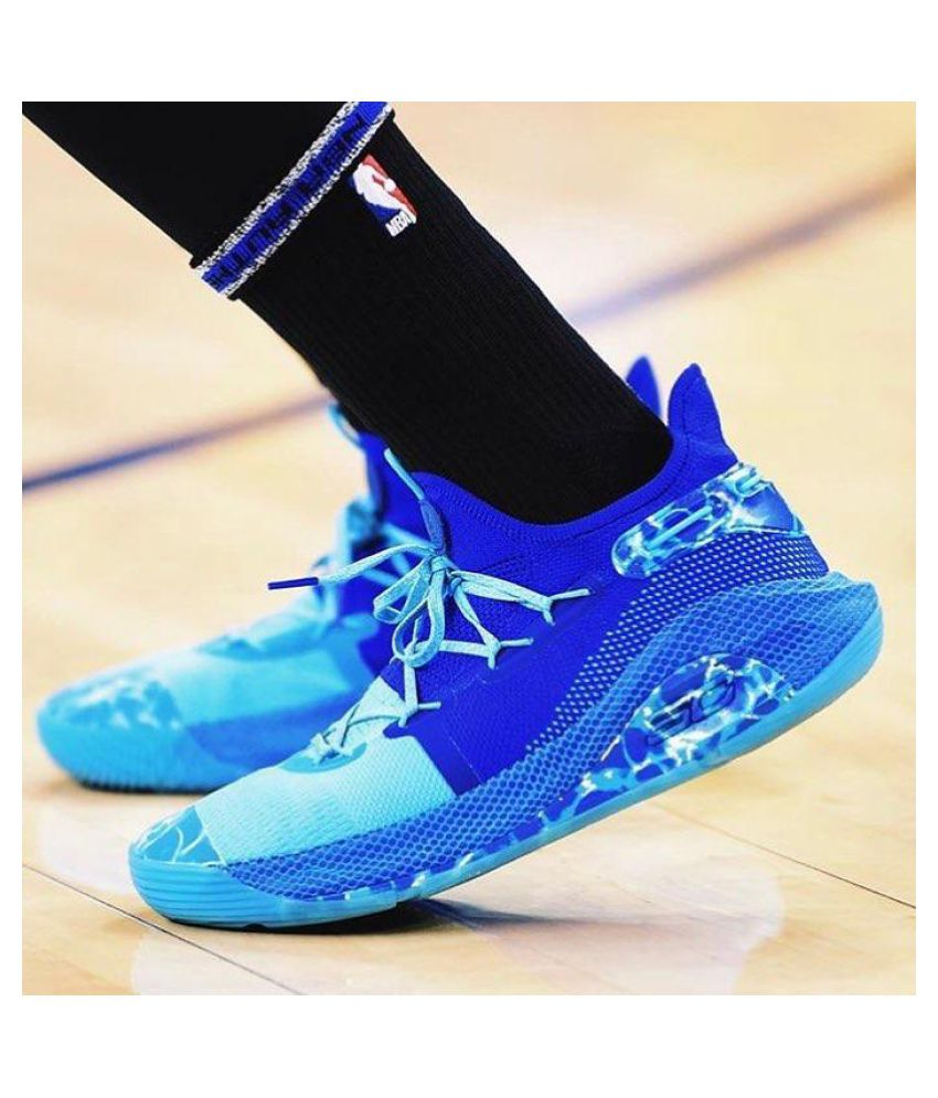 esfera de nuevo Asser  Under Armour CURRY 6 SKY BLUE White Basketball Shoes - Buy Under Armour  CURRY 6 SKY BLUE White Basketball Shoes Online at Best Prices in India on  Snapdeal