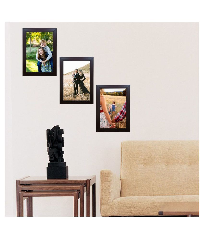 Decora Acrylic Brown Photo Frame Sets - Pack of 3