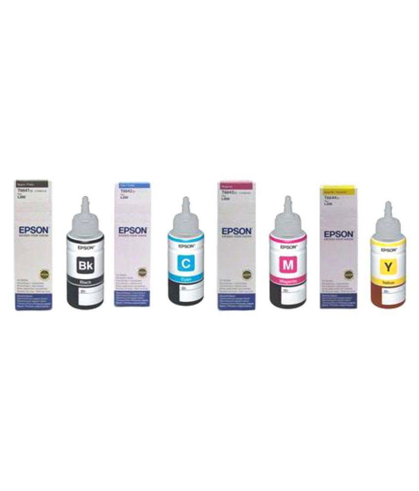 Epson Multicolor Ink Pack of 4  t664