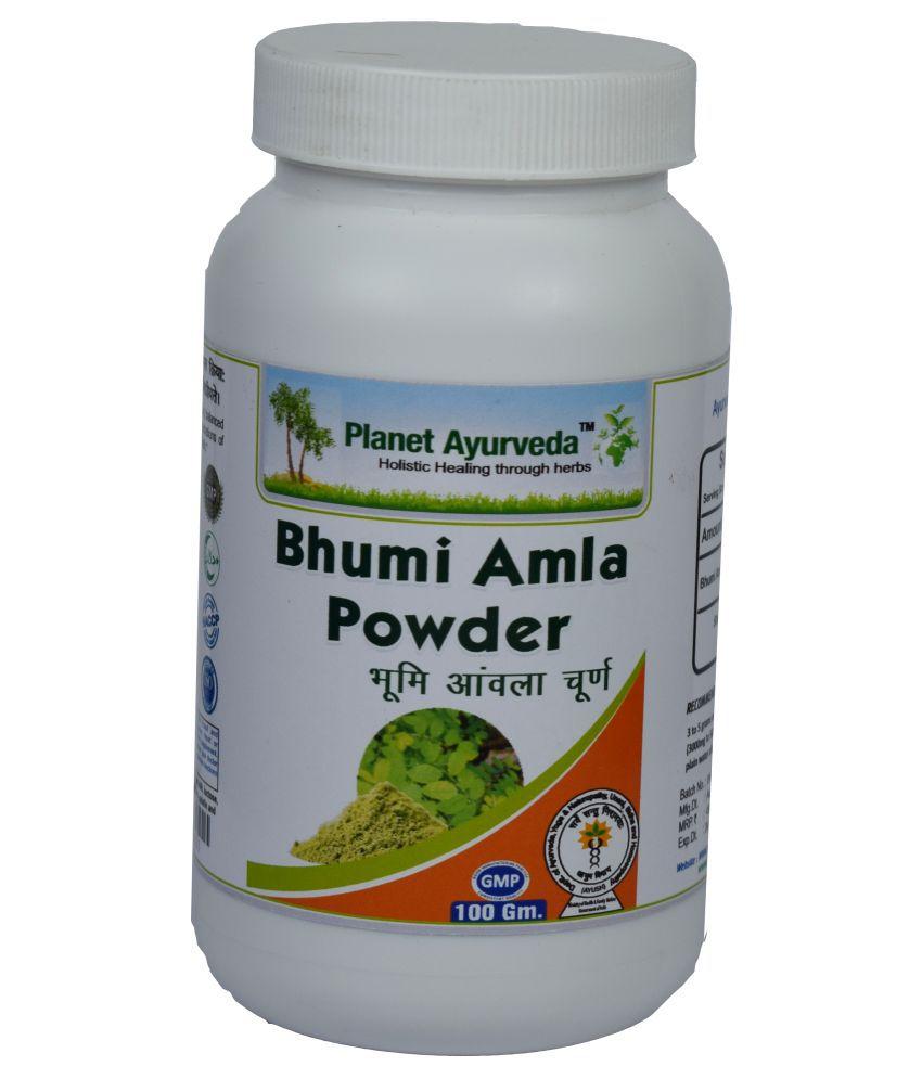 Planet Ayurveda Bhumi Amla Powder  Powder 100 gm Pack Of 2