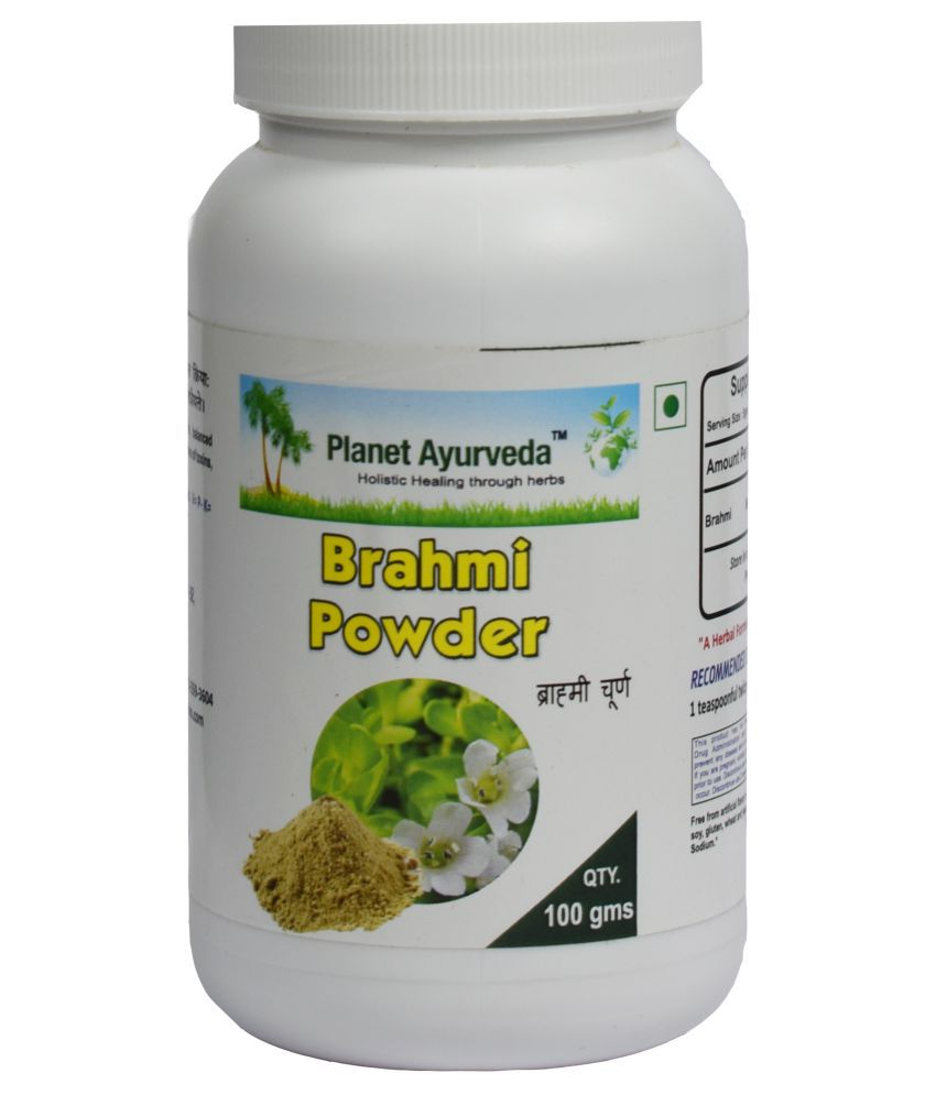 Planet Ayurveda Brahmi Powder  Powder 100 gm Pack Of 2