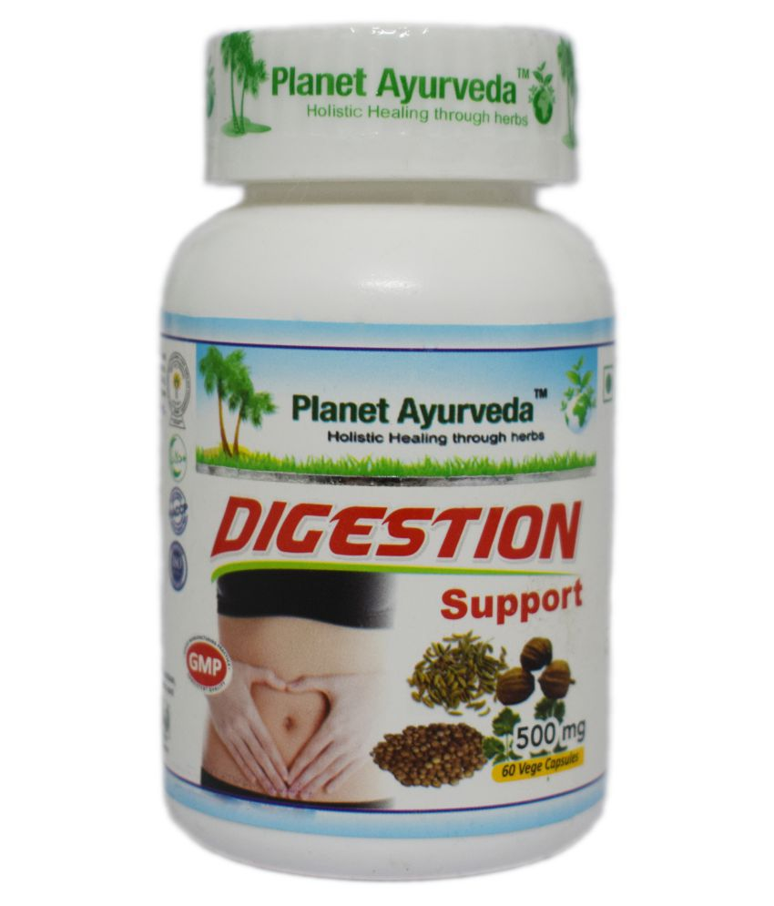 Planet Ayurveda Digestion Support Capsule 60 no.s Pack Of 1