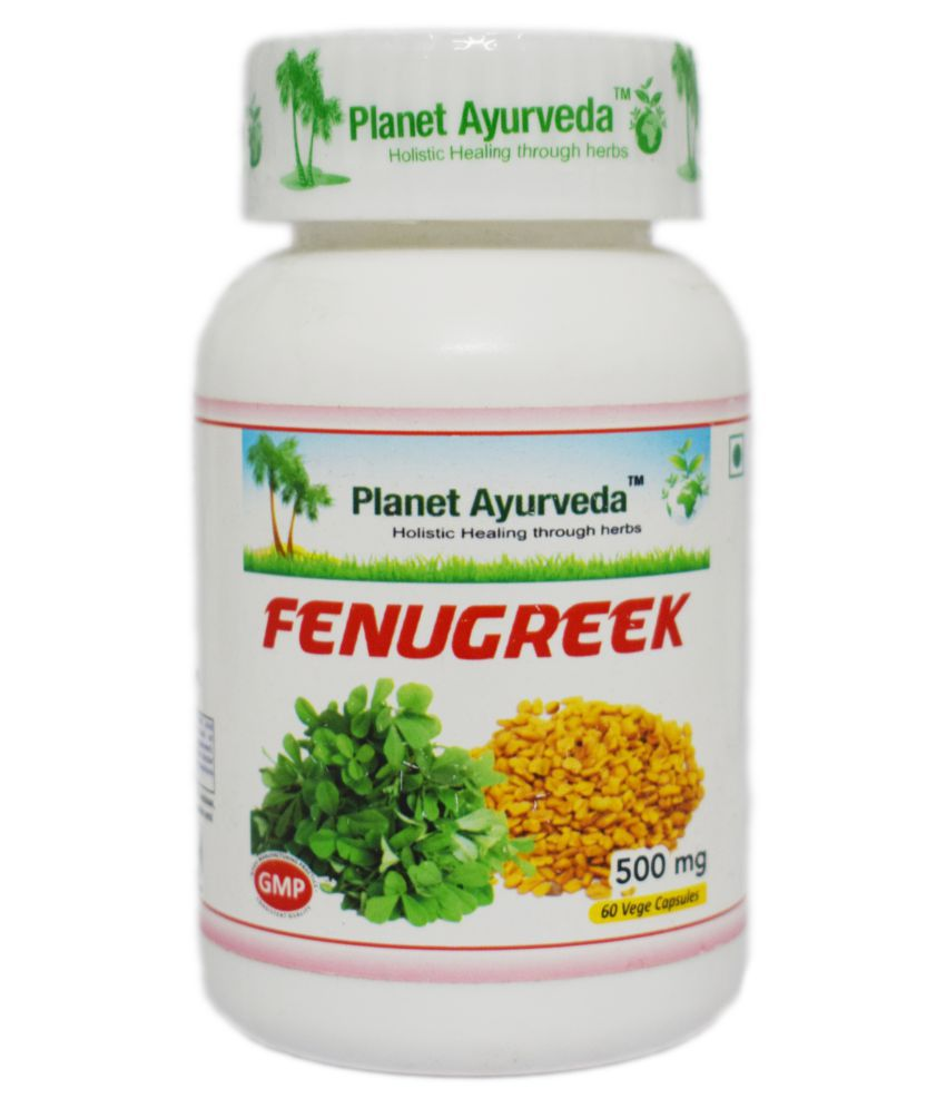 Planet Ayurveda Fenugreek Capsules Capsule 60 no.s Pack Of 1