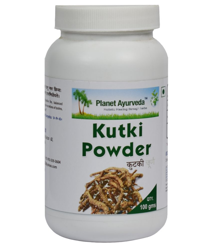 Planet Ayurveda Kutki Powder  Powder 100 gm Pack Of 2
