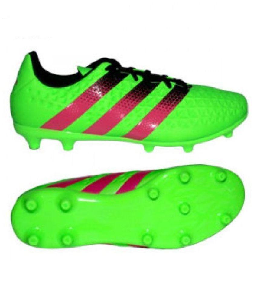 Adidas ACE 16.3 FGAG Mens Football Shoes Adidas Studds Male Green