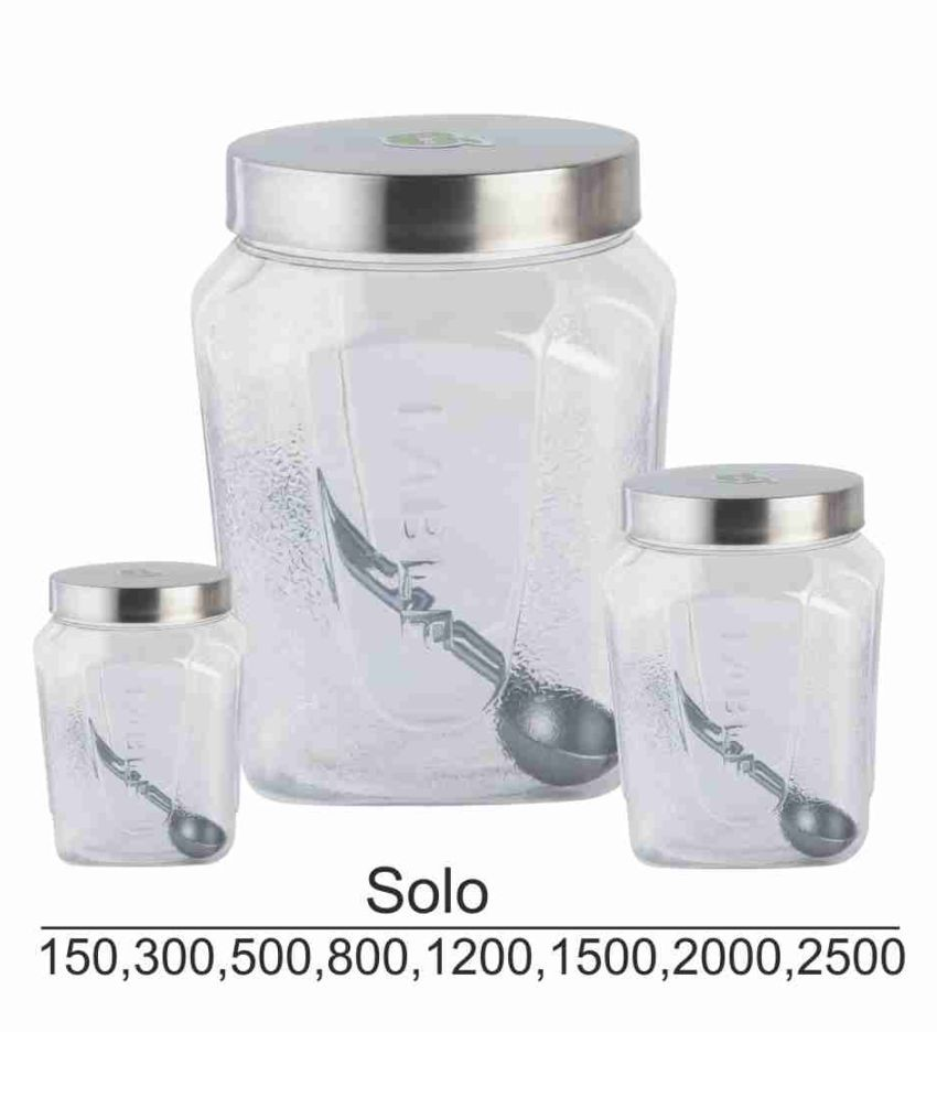 Fable Solo Polyproplene Food Container Set of 4 500 mL