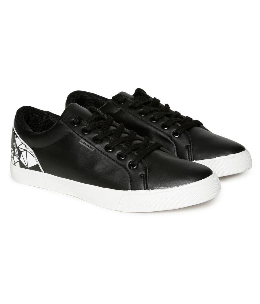 Flying Machine Sneakers Black Casual