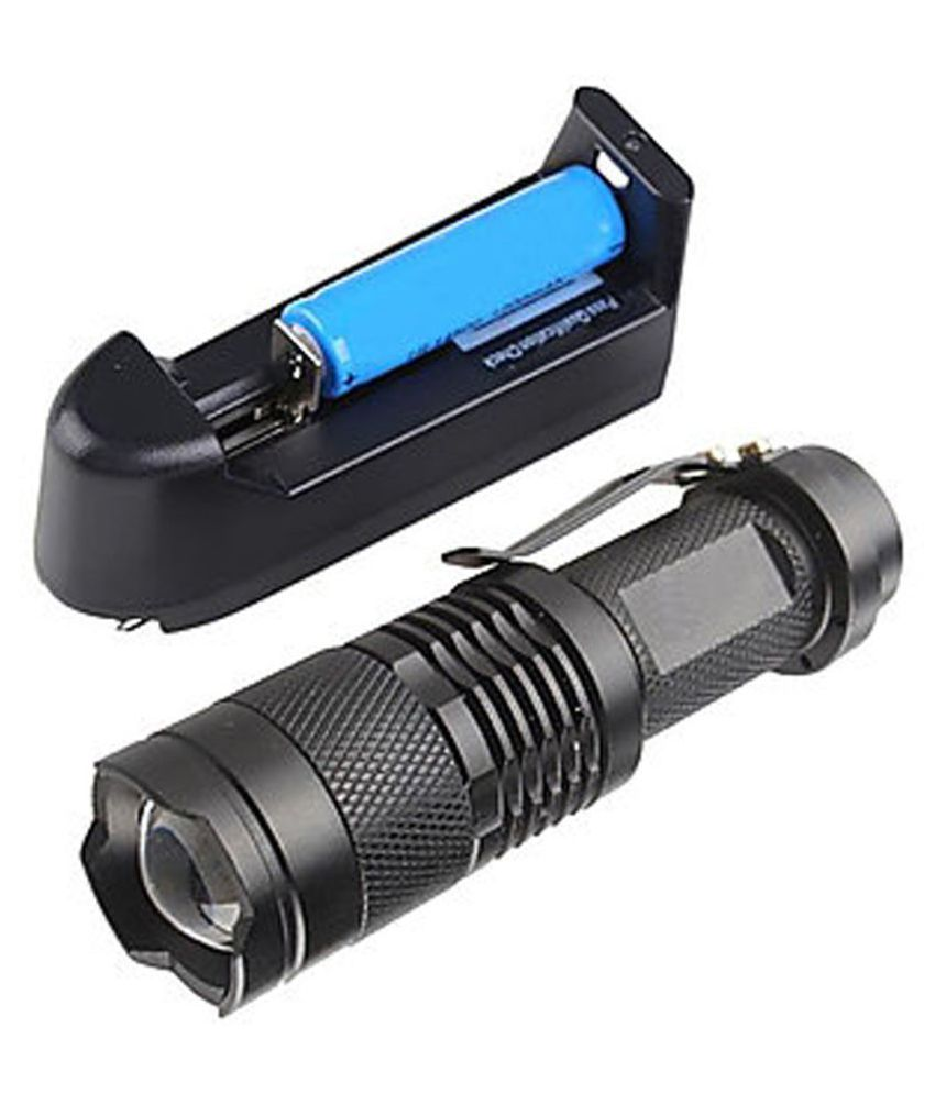 CU CREE UltraFire Imported 3 Modes 9W Flashlight Torch 3 Modes High/Low/SOS - Pack of 1