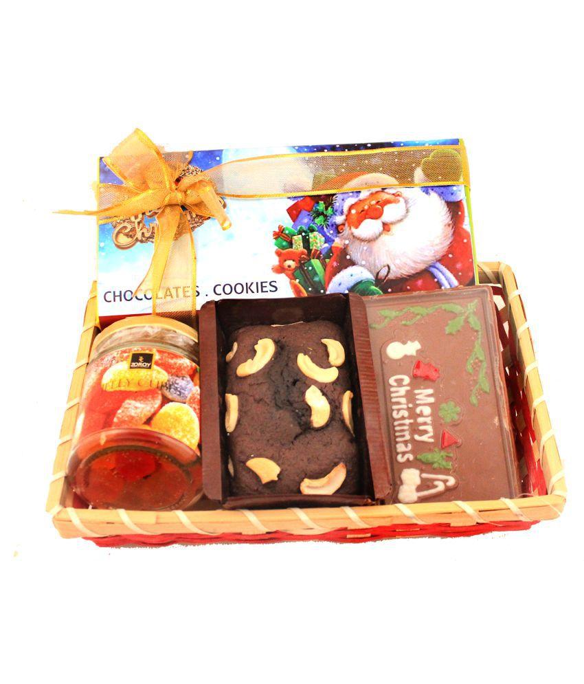 Zoroy Luxury Chocolate Assorted Basket Christmas Vibrance Hamper 100 gm