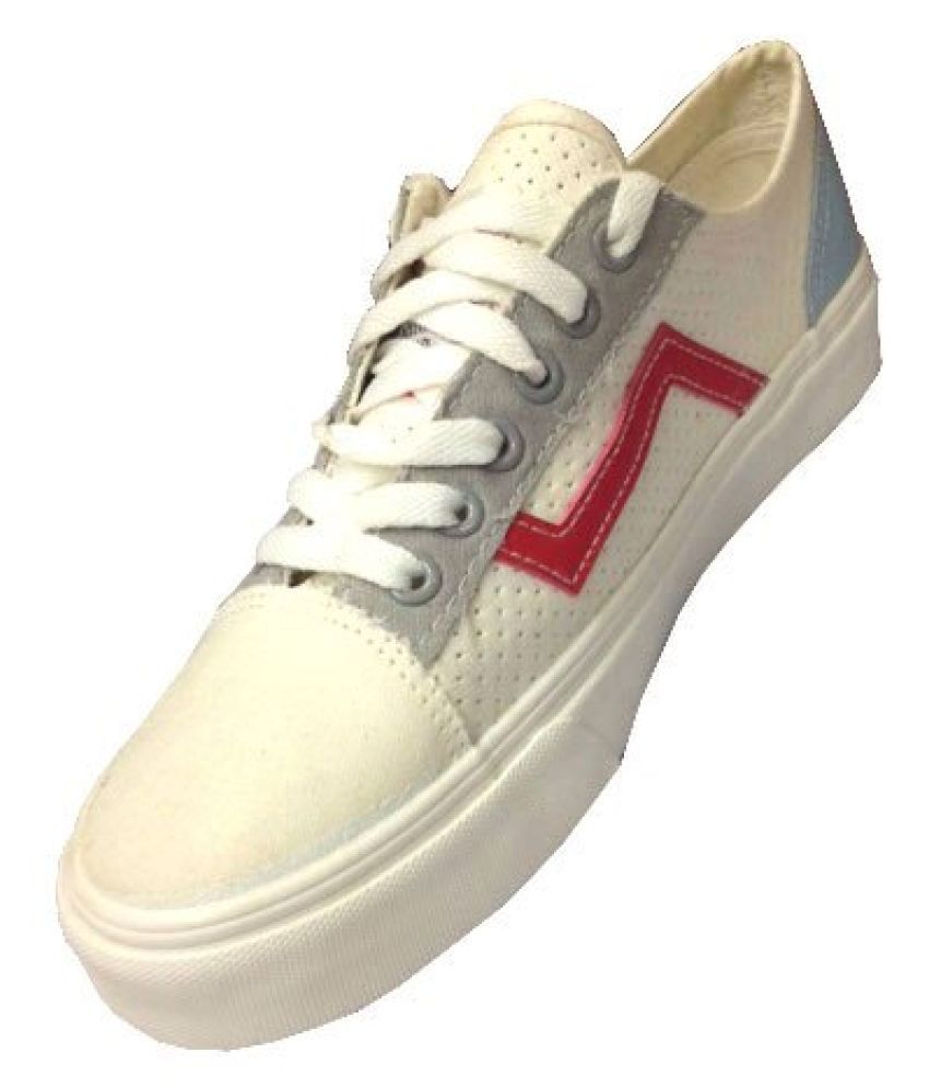 MY FOOT MY STYLE MY WAY White Casual Shoes