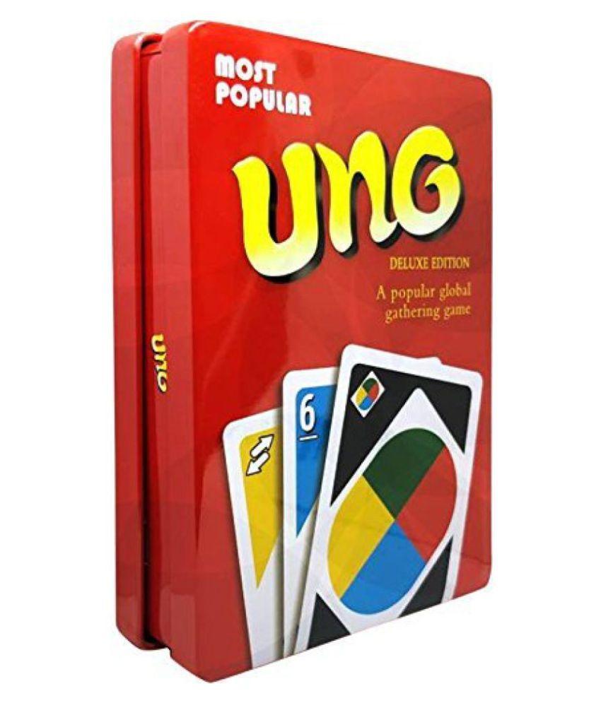 UNO Cards TIN Box - Deluxe Edition