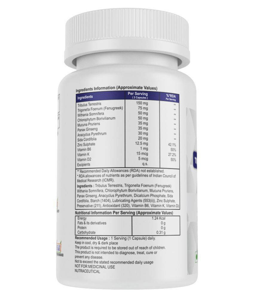 HealthXP Essential Series Testosterone Booster Capsule 60 no.s: Buy HealthXP Essential Series