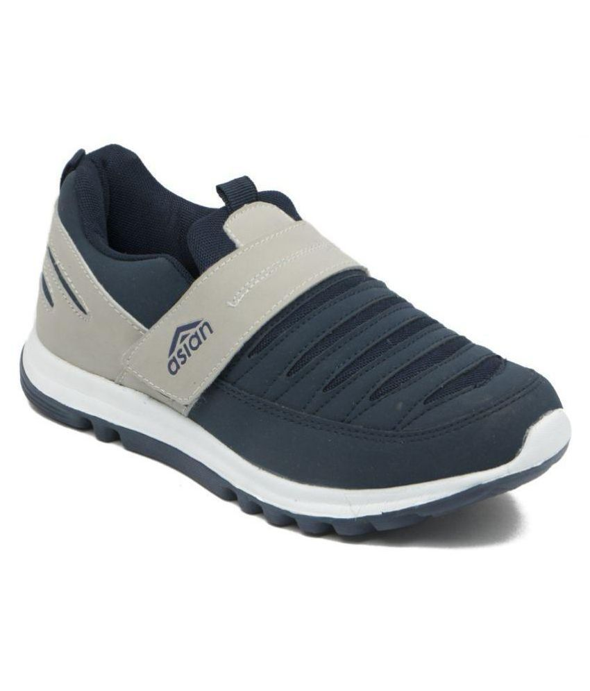ASIAN SUPERFIT Blue Running Shoes