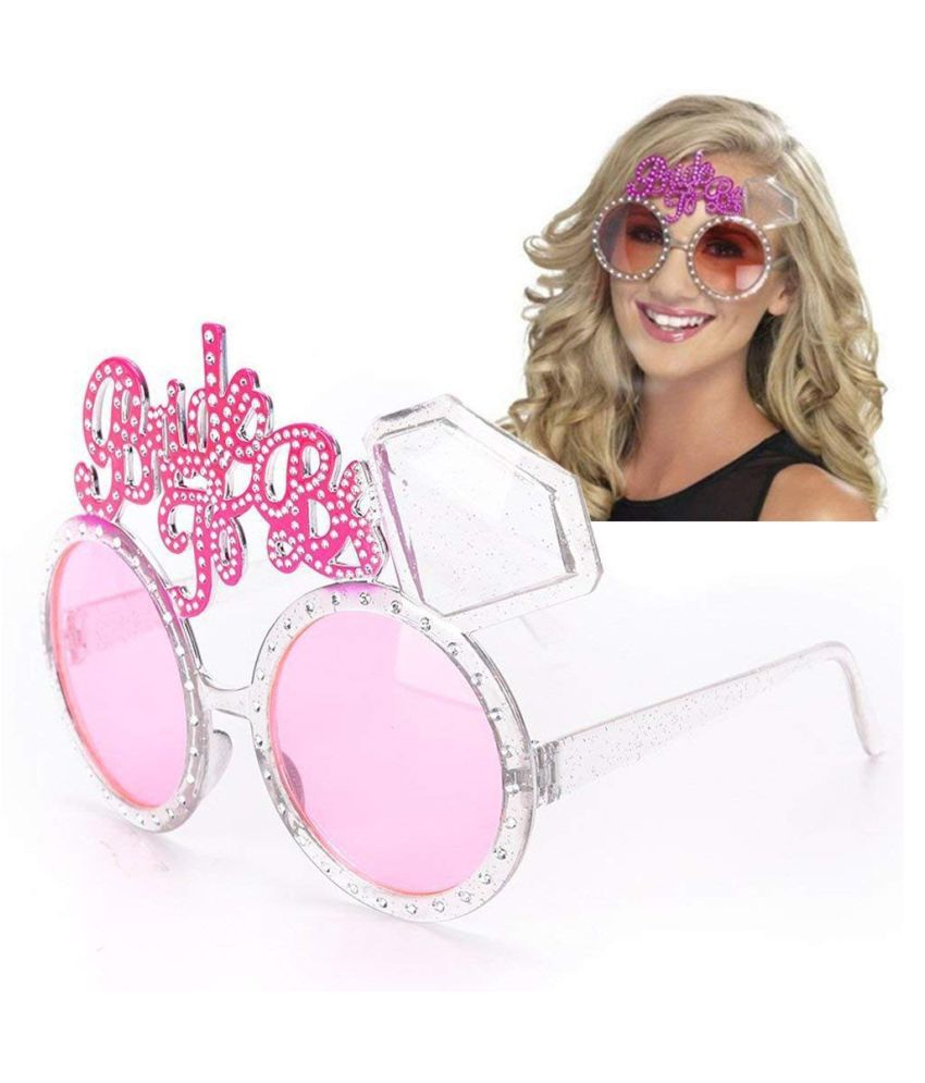 Bride to be Goggles Selfie Props Bridal Shower Accessories Bachelorette Glasses - Pack of 1