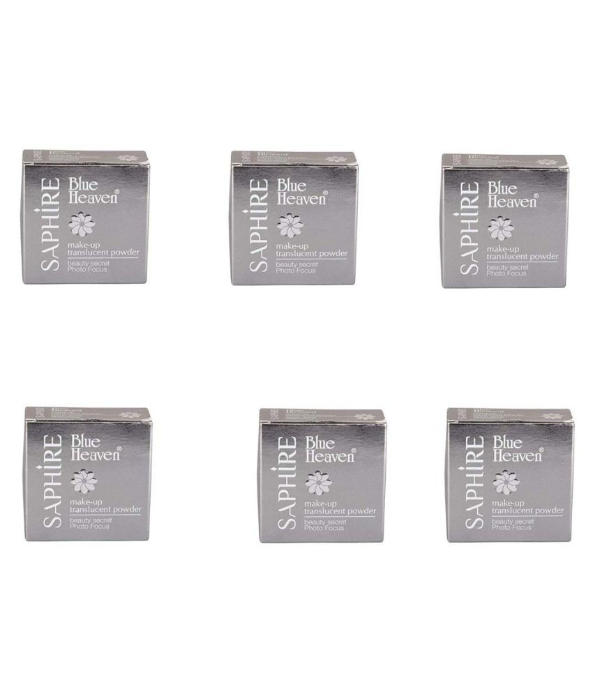Blue Heaven Loose Powder Ivory Pack of 6 120 g