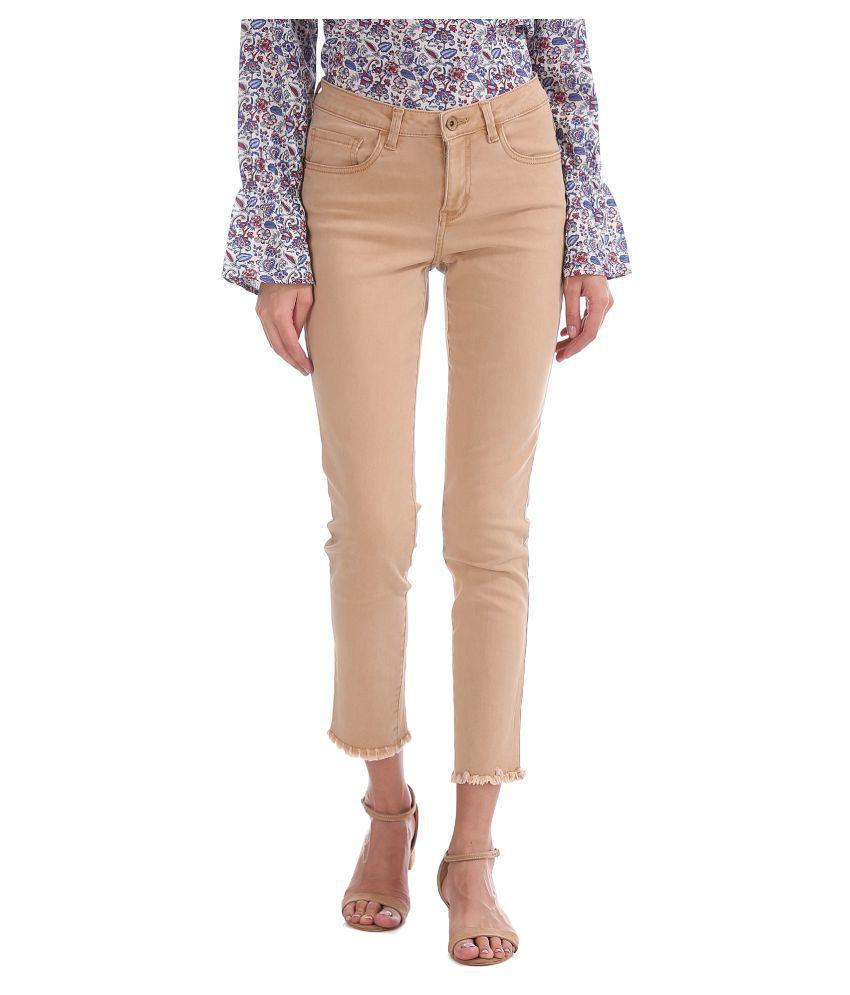 U.S. Polo Assn. Cotton Jeans   Beige