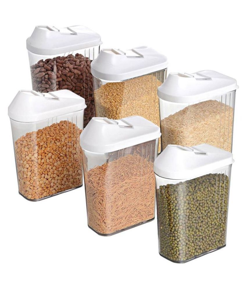 Ultra Plus Easy Llow Polyproplene Food Container Set of 6 750 mL