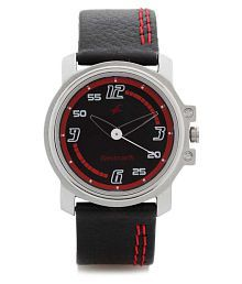 Fastrack 3039sl06 Leather Analog Men's Watch
