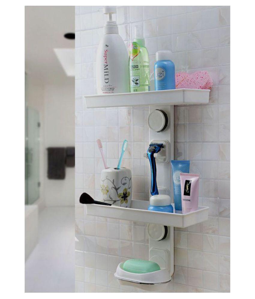 SHOPNJAZZ Plastic Wall Hung Shelf