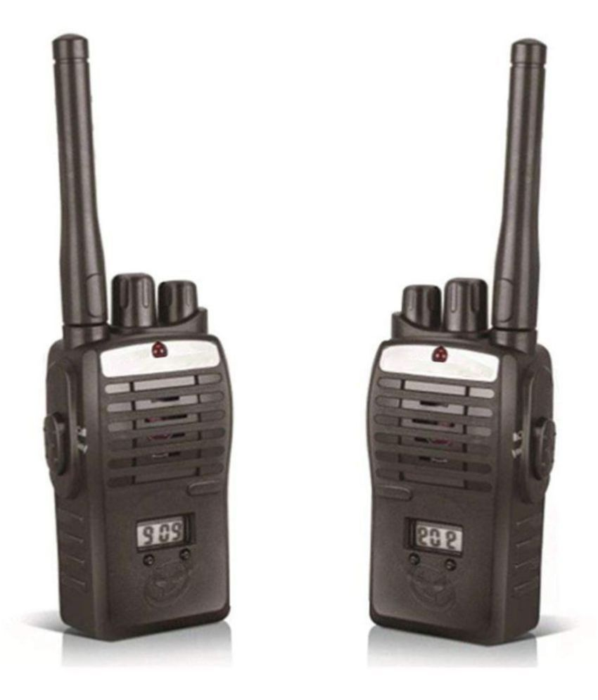 Walkie Talkie for kids Color Black 3+ Super Active frequency