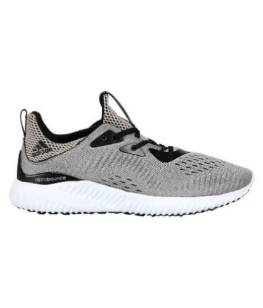 Adidas Alphabounce 1 Running Shoes Gray