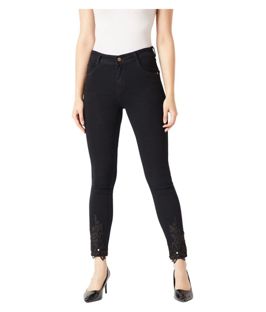 Miss Chase Denim Jeans - Black