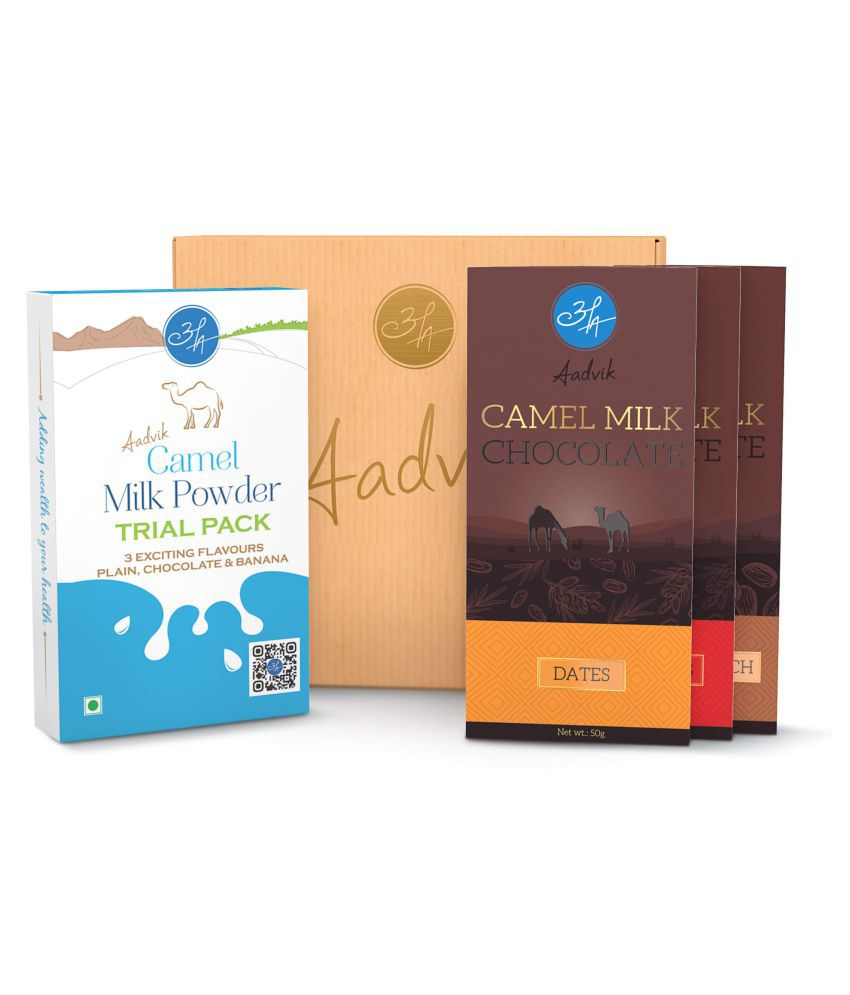 Aadvik Camel Milk Products Gift Pack Assorted Box 400 gm