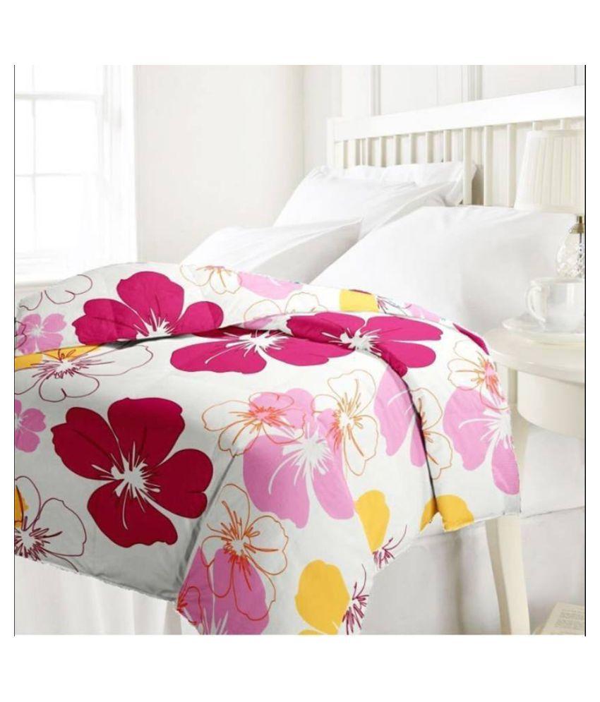 Designer Unit Single Poly Cotton Floral Dohar