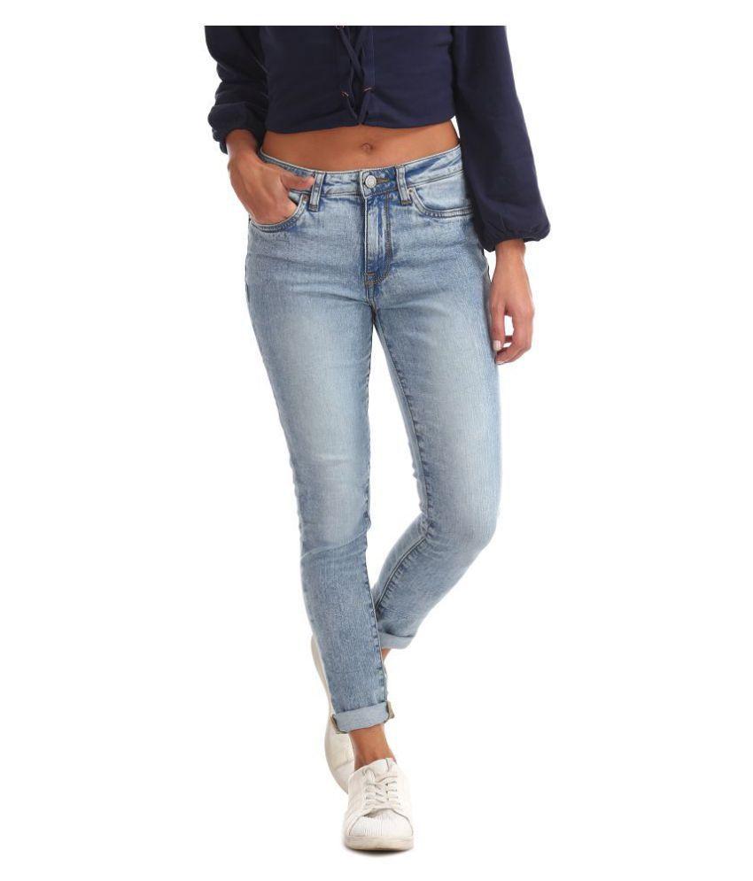 Aeropostale Cotton Jeans - Blue