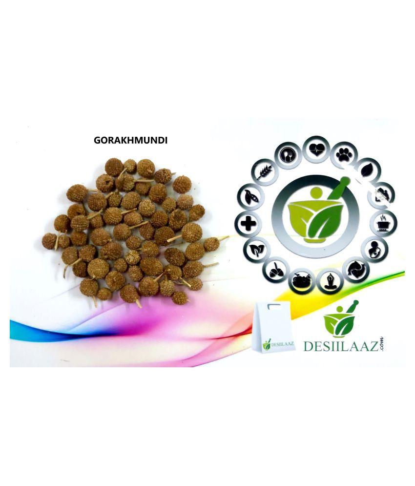 Desiilaaz GORAKHMUNDI / SPHAERANTHUS INDICUS LINN Raw Herbs 500 gm Pack Of 1