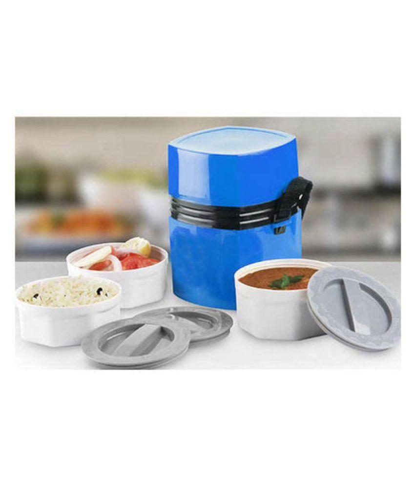 VAGMI Blue PVC Lunch Box