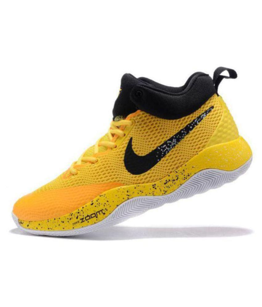 mosaico guía Cabra  Nike Zoom Rev EP Yellow Basketball Shoes - Buy Nike Zoom Rev EP Yellow Basketball  Shoes Online at Best Prices in India on Snapdeal