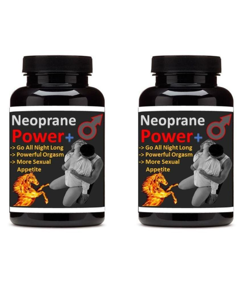 Zemaica Healthcare Neoprane Power Plus Sex Power Booster Capsule 60 no.s Pack Of 2