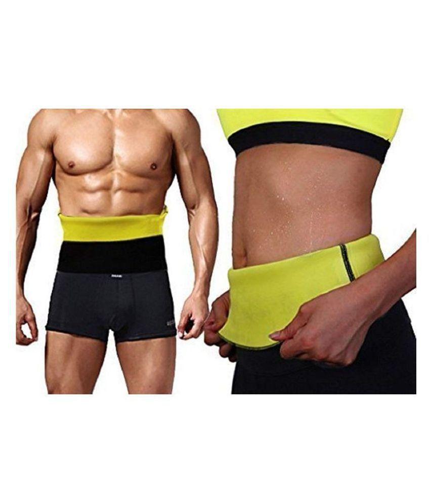 Hanuman Impex Home Gym Size_Small Hot Shaper Belt Waist Trimmer Belt For Unisex