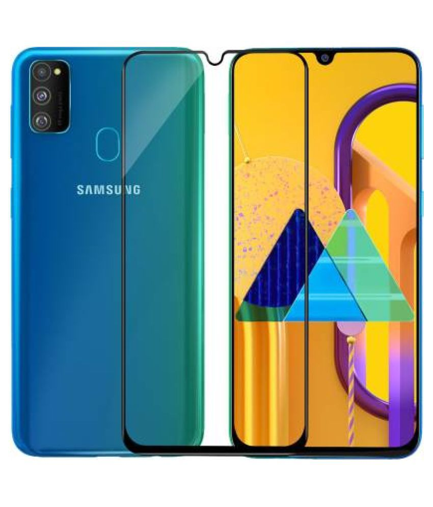 Samsung Galaxy A50s Tempered Glass Screen Guard By lenmax Japanese Advance Screen Protector Technology