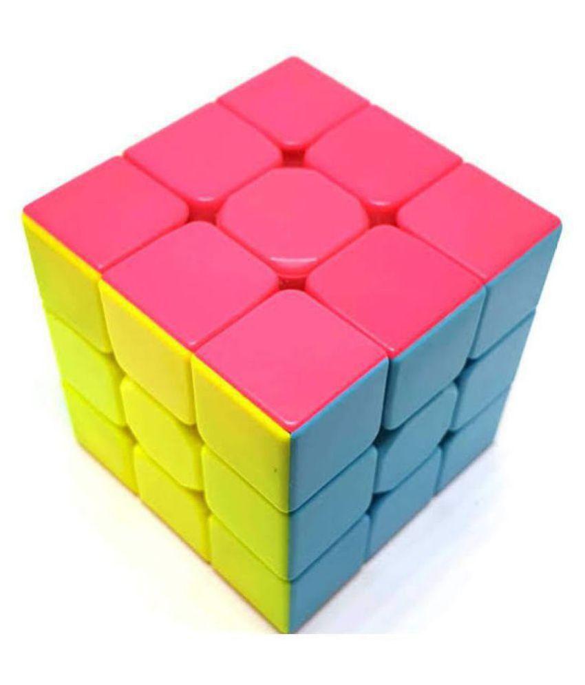 3x3 Stickerless Justin #039;s Cube