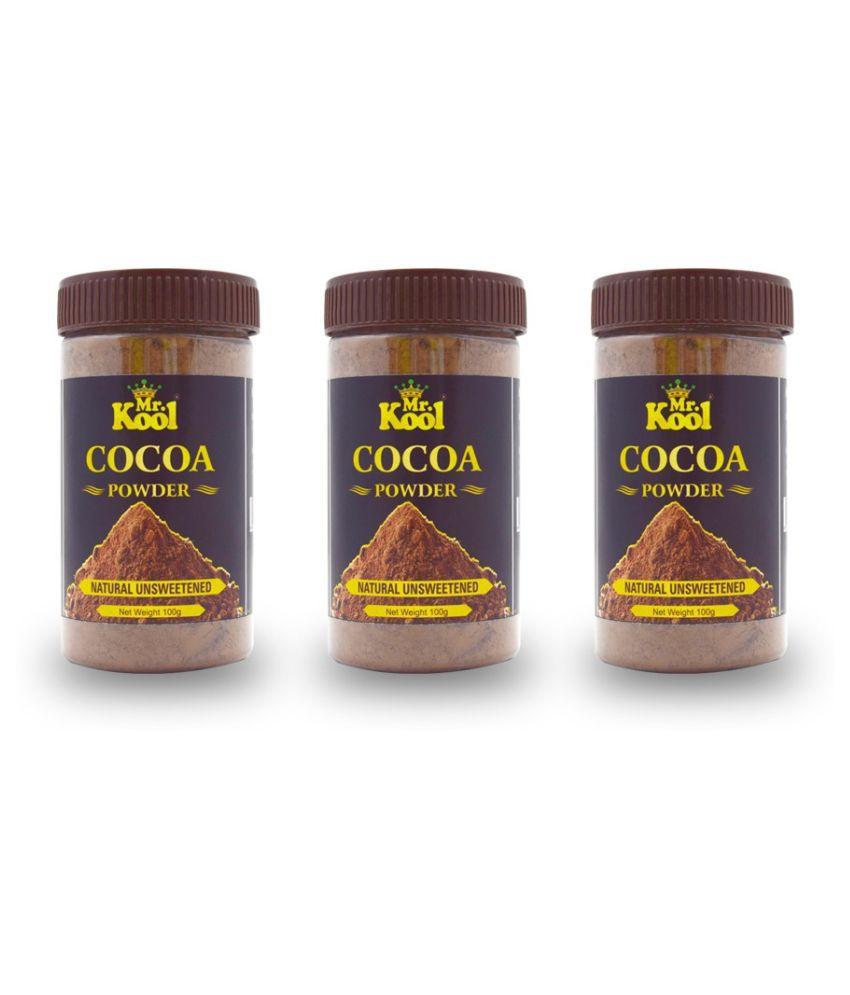 Mr.Kool Natural Cocoa Powder 100 g Pack of 3