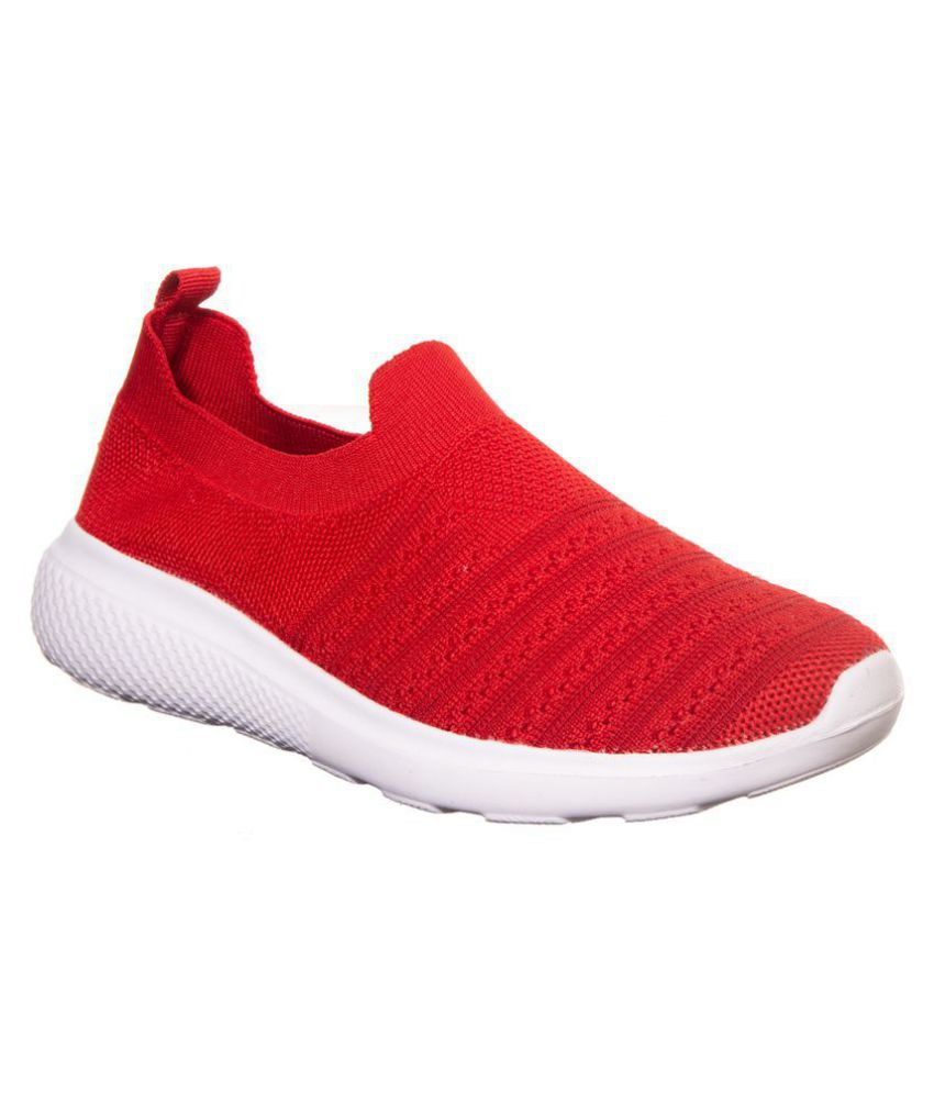 Khadim's Red Casual Shoes