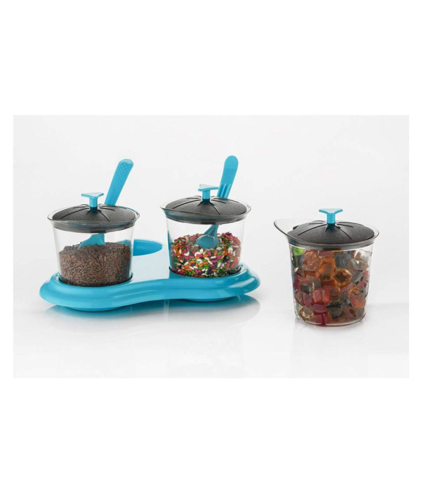 Vmoni Pickle Container Polyproplene Pickle Container Set of 1 300 mL