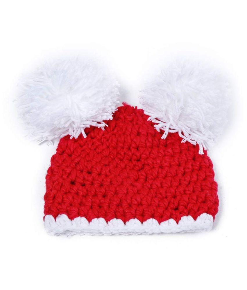 Kids Soft Crochet Photography Prop Cap