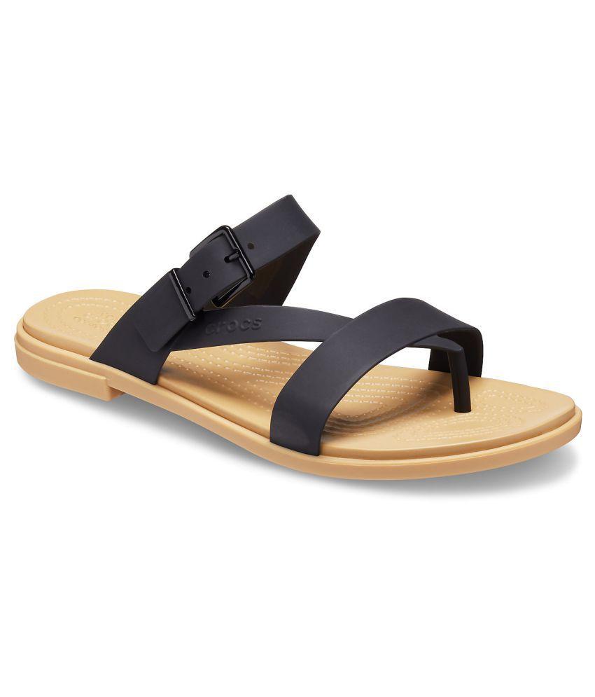 Crocs Black Slippers