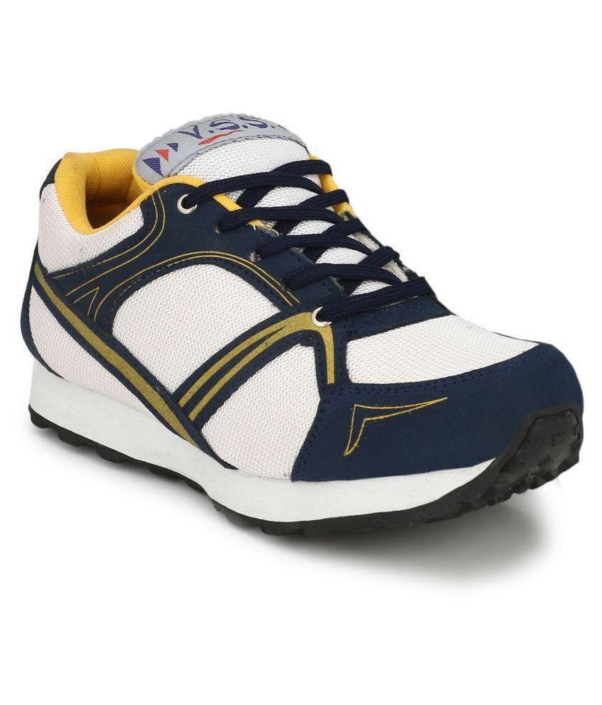 VSS White Training Shoes